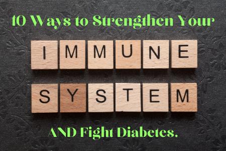 scrabble tiles that spell immune system